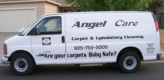 Angel Care Cleaning Van